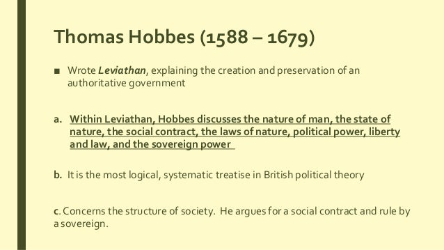 political philosophy and thomas hobbes Lecture 210: happiness, thomas hobbes & the state of nature and he's credited by some as being the founder of modern political philosophy and.