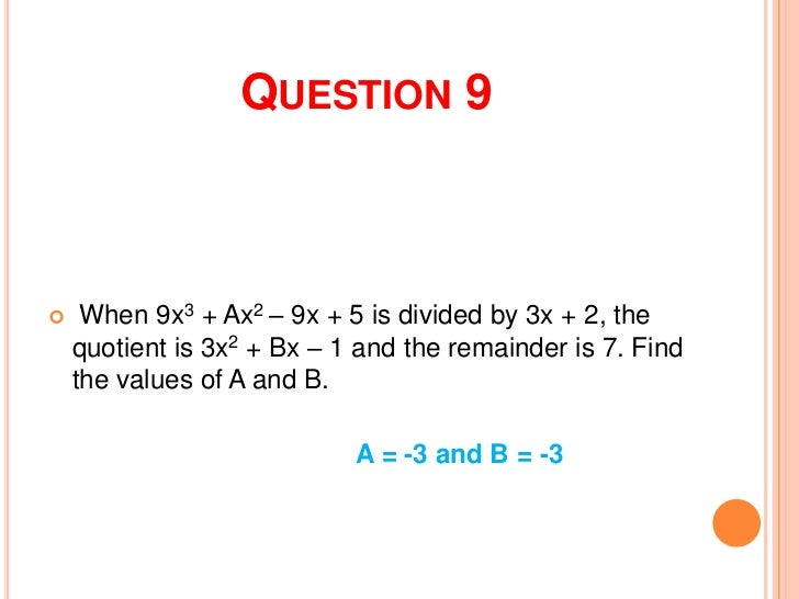 4th Quarter Periodic Test Review In Math3