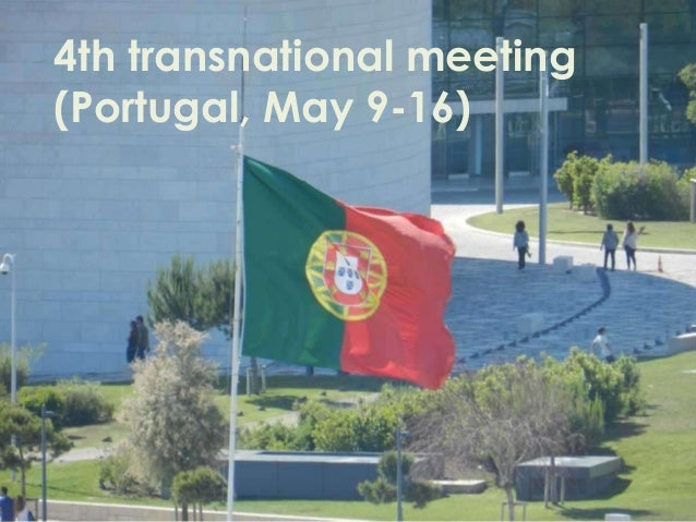 4th transnational meeting (Portugal, May 9-16)