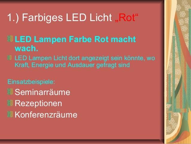 4 tipps zur mitarbeitermotivation durch LED Lampen Licht Slide 2