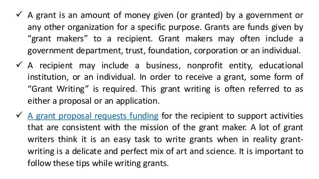 4 tips for grant writing to increase success