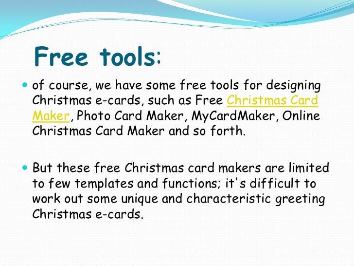 4 tips for making business christmas e cards excellent card maker 9 reheart Choice Image