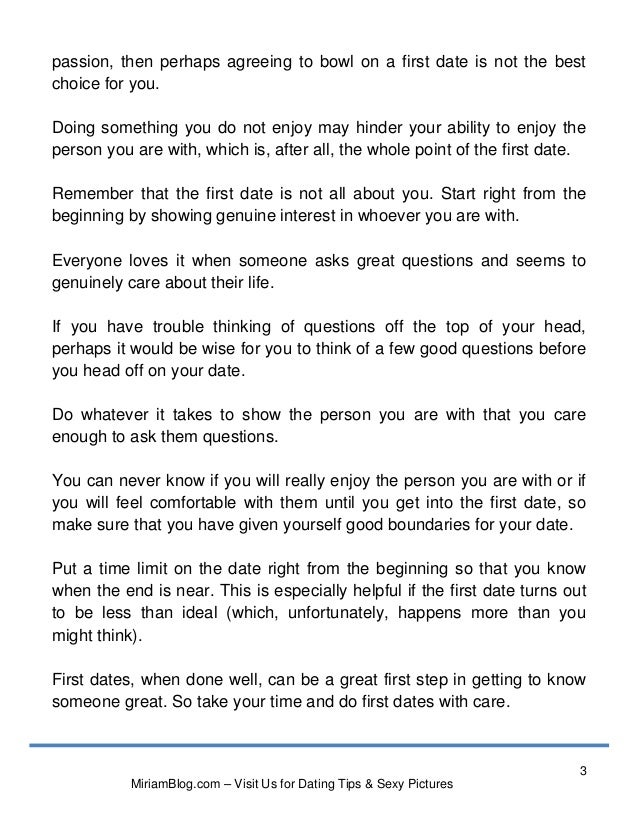 Questions to ask when youre first dating