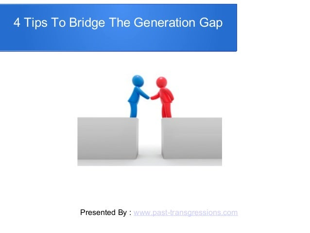 What the Bible Says about Bridging the Generation Gap