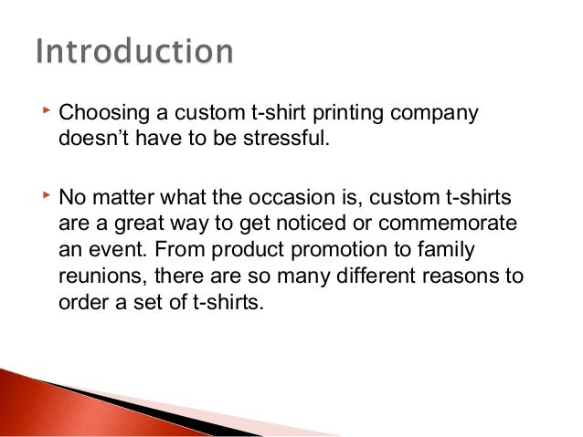 4 Tips To Choosing A Custom T Shirt Printing Company