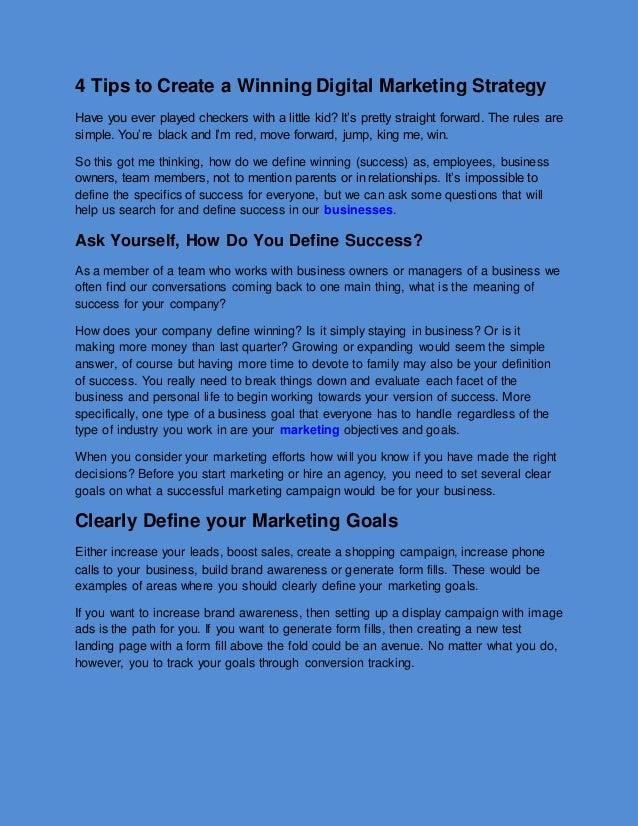 4 Tips To Create A Winning Digital Marketing Strategy,Moon Flowers Tattoo