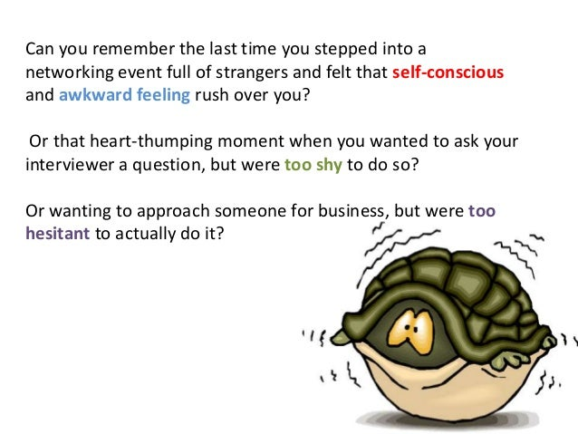 how to overcome shyness during an 2016-10-14 how do you overcome shyness in presentation update cancel answer wiki 4 answers anonymous  how do you overcome shyness and anxiety during a.