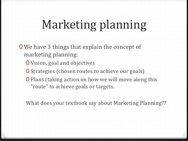 Marketing plan of a tourism company