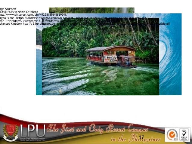 17 age Sources: ikAsik Falls in North Cotabato tps://www.pinterest.com/pin/49258189644639541/ argao Island: http://kokaire...