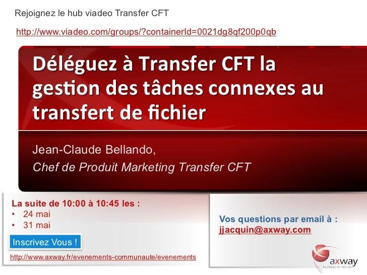 Rejoignez le hub viadeo Transfer CFT  http://www.viadeo.com/groups/?containerId=0021dg8qf200p0qb          Déléguez à T...