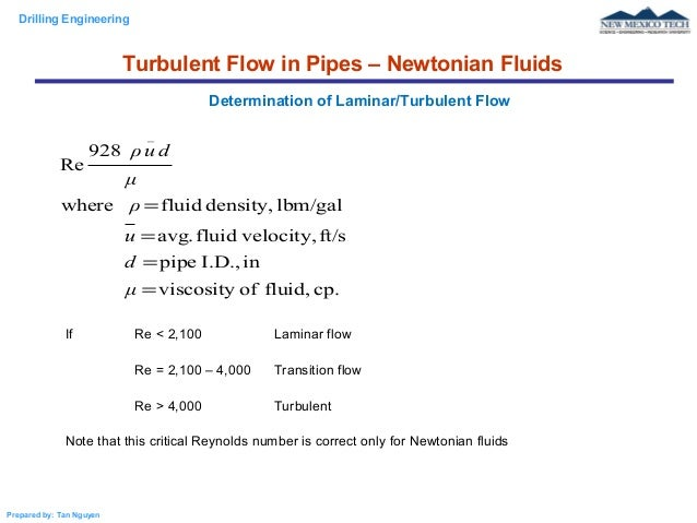 Reynolds Number - Laminar and Turbulent Flow - YouTube