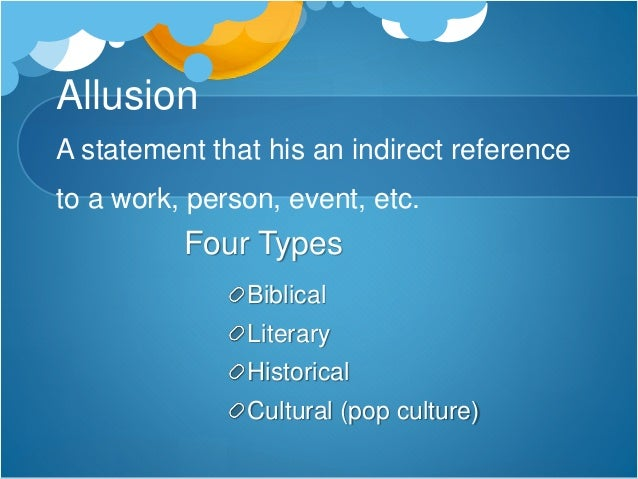 Types Of Allusion