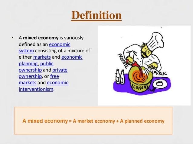 define mixed economy in economics