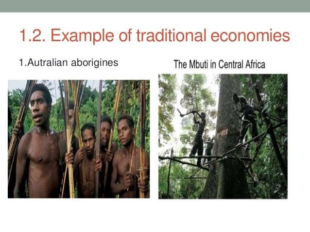 4 Types Of Economy