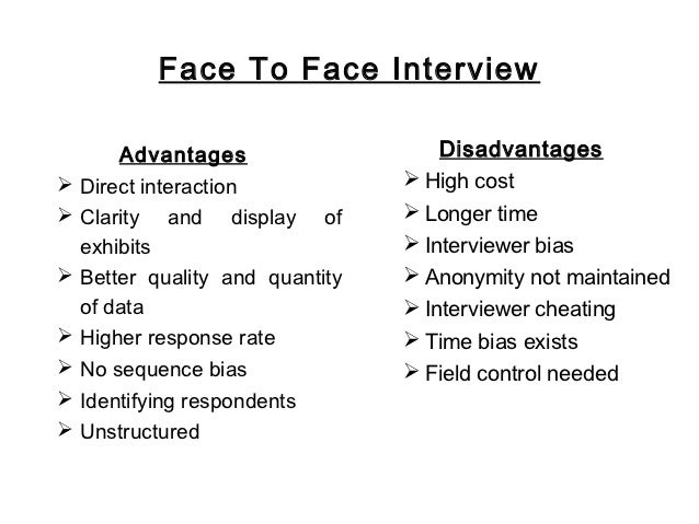 advantage and disadvantage of face to face communication Face-to-face training is the traditional way and still has its strong foundations embedded into the learning process for many companies and institutions because of its clear advantages here are some of them.