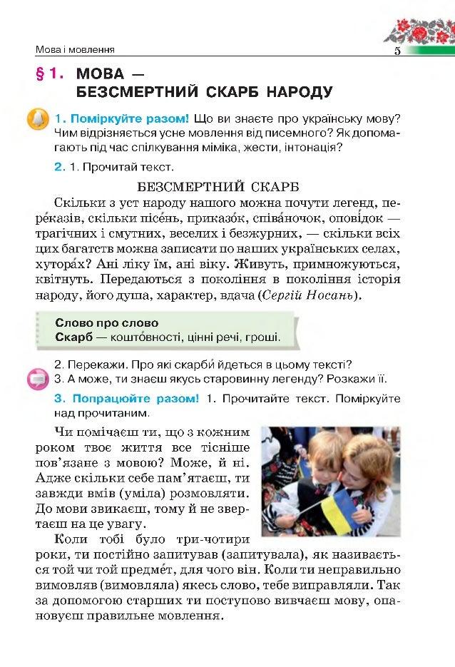 гдз укранська мова 4 клас хорошковська воскресенська свашенко