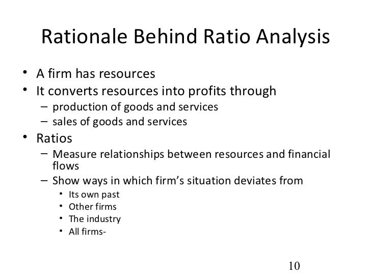 rationale of ratio analysis Read a guide to the top 5 most incorrectly calculated ratios for f2 financial performance and position questions by.