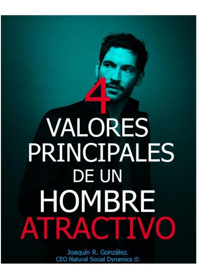01104e426fd4 naturalsocialdynamics.com 2 4 VALORES PRINCIPALES DE UN HOMBRE ATRACTIVO  Joaquín R. González CEO ...