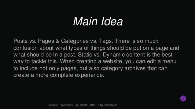 How To Organize Your Content Through Navigation and Wayfinding Slide 2