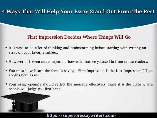 first effect is the actual keep going sense essay contest