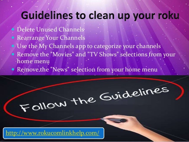4 ways to clean up your roku