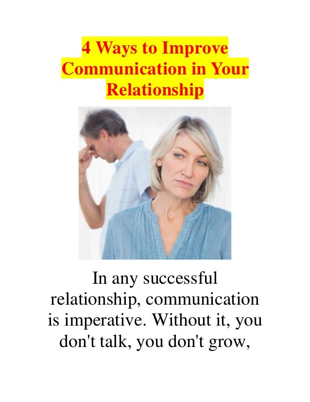technologies that improve communication in relationship