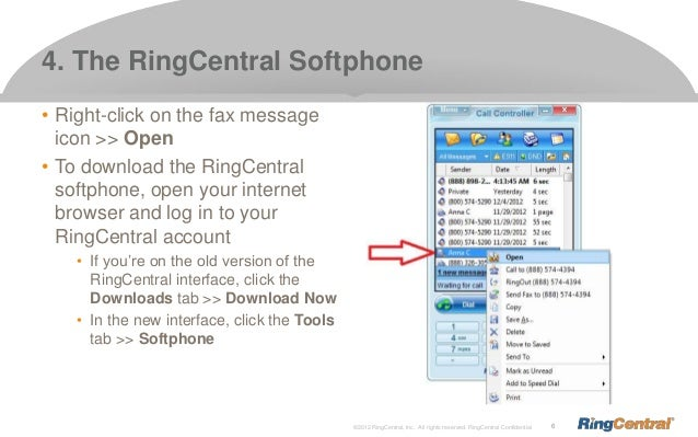 Four Ways to View RingCentral Faxes