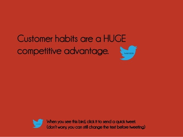 4 Ways to Win Your Competitor's Customer Habits Slide 2