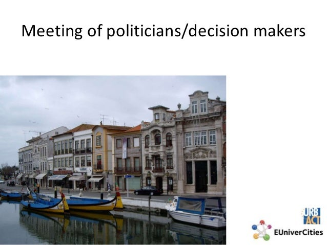 Meeting of politicians/decision makers