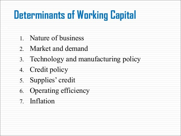 Determinants of working capital investment forex simulator app