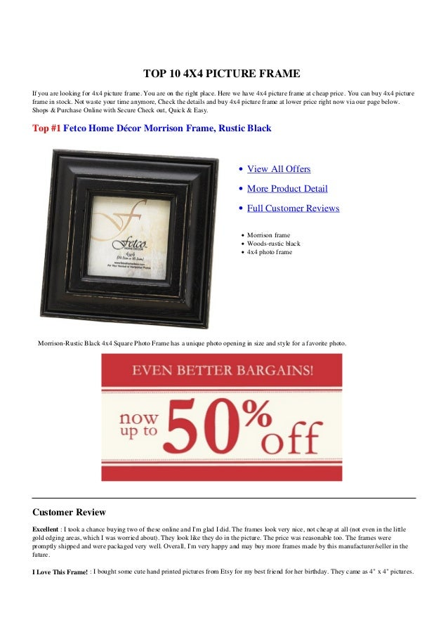 TOP 10 4X4 PICTURE FRAMEIf you are looking for 4x4 picture frame. You are on the right place. Here we have 4x4 picture fra...