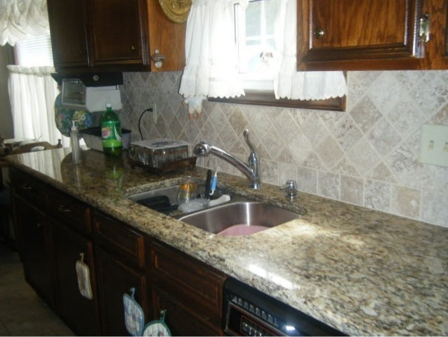 4x4 Noce Travertine Tile Backsplash Designs For Kitchens