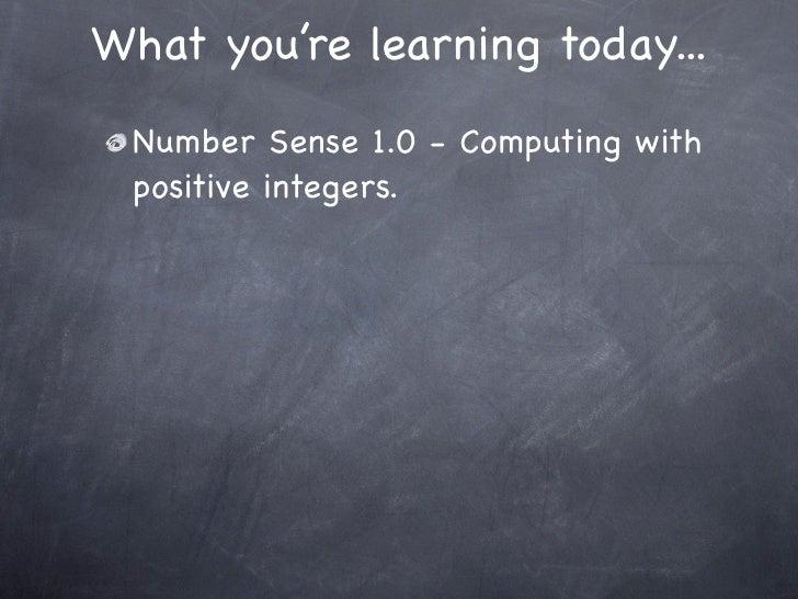5-1 Mental Math: Patterns in Multiplication Slide 3
