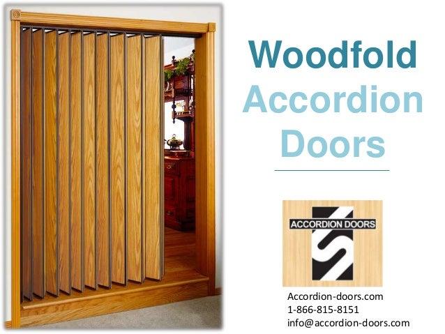 sc 1 st  SlideShare & Woodfold Accordion Doors