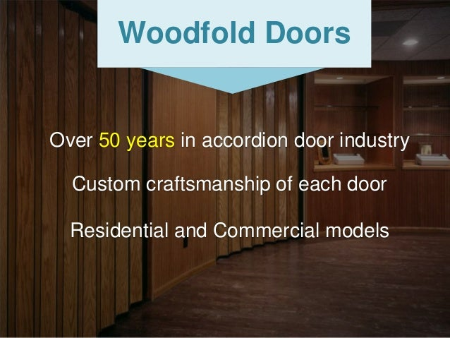 Woodfold Accordion Doors
