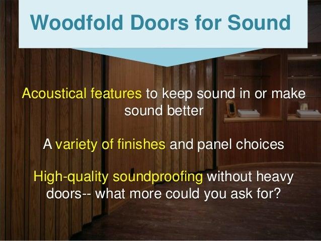 Woodfold ...  sc 1 st  SlideShare & Woodfold Accordion Doors pezcame.com