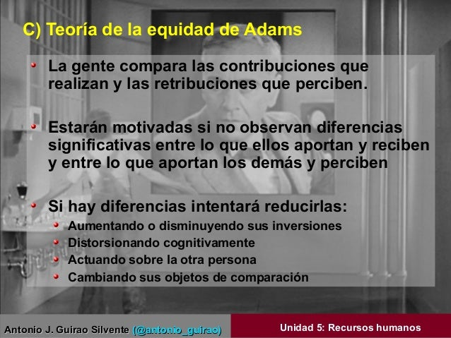 Antonio J. Guirao SilventeAntonio J. Guirao Silvente (@antonio_guirao)(@antonio_guirao) Unidad 5: Recursos humanos C) Teor...