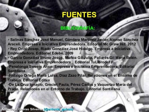 Antonio J. Guirao SilventeAntonio J. Guirao Silvente (@antonio_guirao)(@antonio_guirao) BIBLIOGRAFÍA: Salinas Sánchez José...