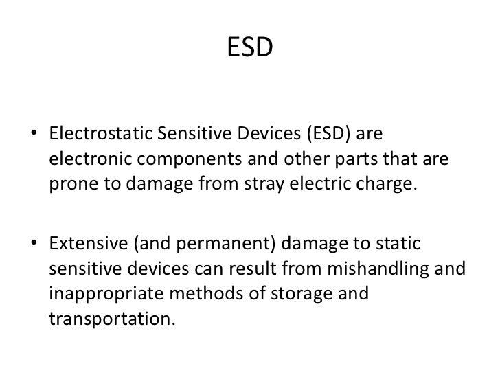 EASA PART-66 MODULE 5.12 : ELECTRONICS SENSITIVE DEVICES Slide 2