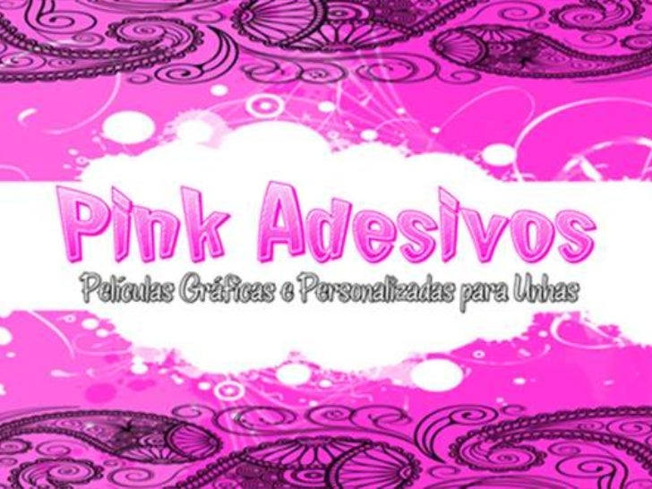 PINK ADESIVOS