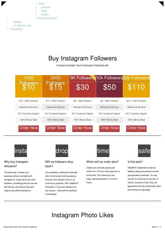 l Home l Facebook l Twitter l Youtube ¡ Youtube Comments l Instagram ¡ Instagram Likes l SEO Service  Buy Instagram Follo...