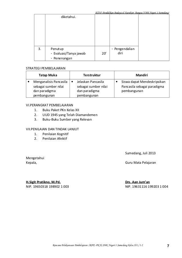 5 Rpp Pkn Kelas Xii Smt 1 2