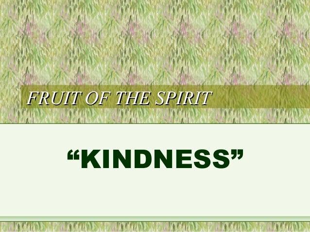 fruit of the spirit kindness quenepa fruit