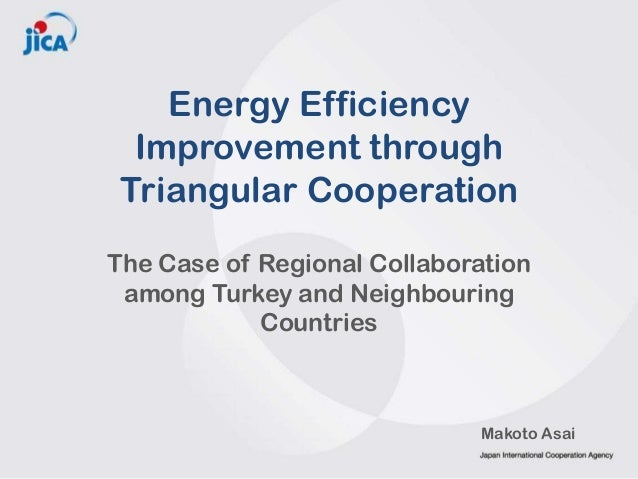 Energy Efficiency Improvement through Triangular Cooperation The Case of Regional Collaboration among Turkey and Neighbour...