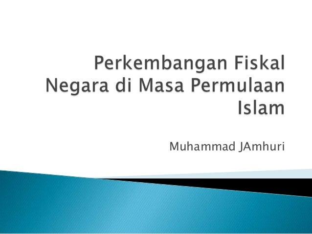 Muhammad JAmhuri