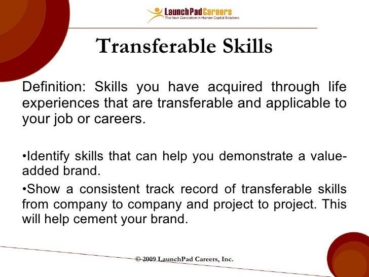 Top 5 Transferable Skills