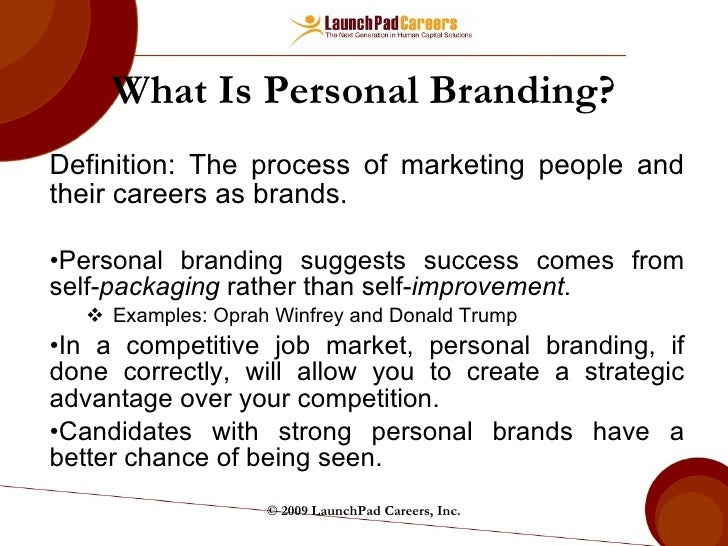 personal brand definition