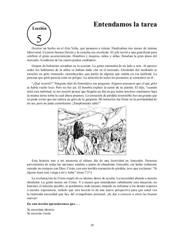 Lección  Entendamos la tarea  5 Ocurrió un hecho en el Alto Volta, que pasamos a relatar. Finalizaban tres meses de intens...