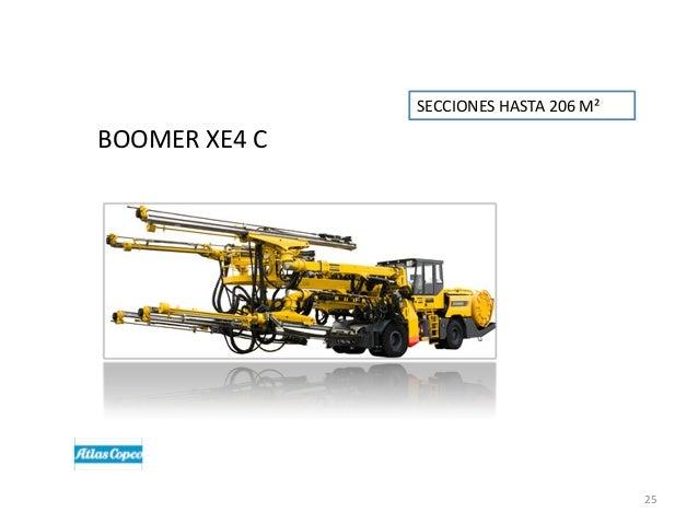 SECCIONES HASTA 206 M²  BOOMER XE4 C  25