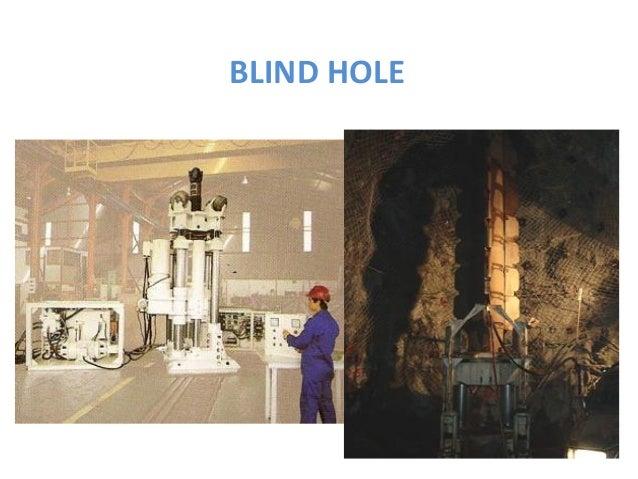 BLIND HOLE